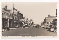 High Street Lymington Hampshire Vintage RP Postcard 071c