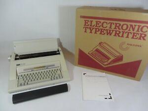 Nakajima AX-160 Electronic Automatic Typewriter - Memory LCD Display TESTED