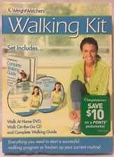 Weight Watchers Walking Kit (DVD-CD-Handbuch) gehen zu Hause Übung Fitness Workout