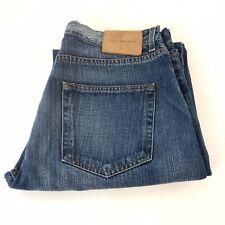 Calvin Klein Mens Blue Denim Jeans Loose / Regular Fit Size W34 x L33