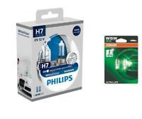H7 12V 55W WhiteVision Xenon-Effekt 3700K 2St Philips + W5W UltraLife OSRAM