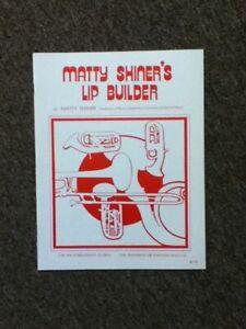 Matty Shiner Lip Builder Trombone/Baritone Music Method Book