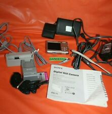 Sony Cyber-shot DSC-T1 5.0MP Digital Camera - Silver