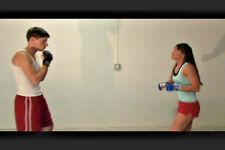 Cindy VS Male Match 2 - Mixed Wrestle DVD Female Male Fight Wrestling Pro Style