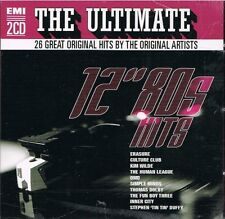 "Ultimate 12""  80's Hits Remix **Brand New CD**   Dolby Culture Club Human League"