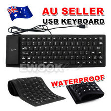Portable Flexible Silicone PC Foldable Mini USB Keyboard for Notebook Laptop