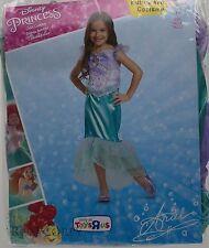 Halloween Disney Ariel Toddler Dress Up Costume Size Medium 7-8 NWT