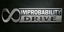 The Hitchhikers Guide To The Galaxy Infinite Improbability Drive Car Emblem