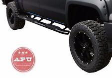 "Fits 2009-2016 Dodge Ram 1500 Crew Cab 5"" Oval Black Side steps Wheel To Wheel"