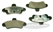 Disc Brake Pad Set-Semi-metallic Pads Rear Tru Star PPD661