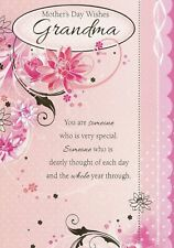 Mother's Day Wishes Grandma Card