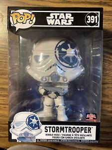 "Funko Pop Star Wars #391 Stormtrooper (10"" 2021 Targetcon limited exclusive)"