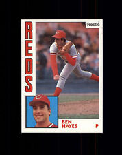 1984 Nestle #448 Ben Hayes - Cincinnati Reds NM/MT (A02A)