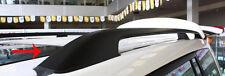Toyota Landcruiser 200 Series 2008 to 2017 Black Aluminium Roof Rack Rails
