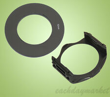 52mm 52 Adapter Ring + Filter Holder Mount for Cokin P Series