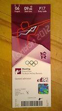 Billete de Londres 2012 olímpico disparos Collectors Edition 06 0900 de agosto P17 * en Perfecto *