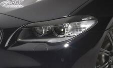 RDX Scheinwerferblenden BMW 5er F10 / F11 (-07/2013) Böser Blick Blenden Spoiler