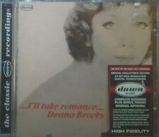 CD donna Brooks-I 'll take romance, NEUF-NEW-OVP