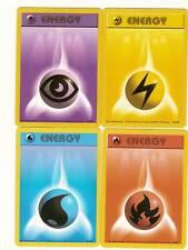 LOT OF  16   POKEMON ENERGY CARDS (base set)