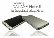 Brushed Metal Skin For SAMSUNG GALAXY NOTE 2 Wrap Cover Sticker Protector Case