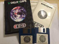 """Acorn Archimedes A3000 A5000 RISC OS-GIOCO PC World SCAPE + scatola istruire """"COMPLETO"""
