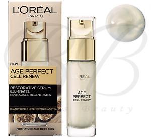 L'OREAL Paris Age Perfect Cell Renew Revitalising Restorative Serum 30ml *NEW*