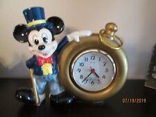 Mickey Mouse ceramic clock
