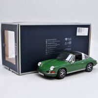 NOREV 1:18 Scale Green Porsche 911 S Targa 1973 Diecast Car Model New in Box