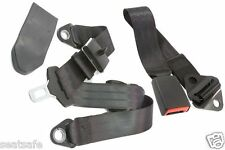 Seatbelt Early Model Holden, Ford, Hotrod etc Universal Fit Lap/Sash with Buckle