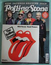"ROLLING STONE ""JUNI 2015"" + ROLLING STONES ""Wild Horses Acoustic"" 7 Inch Vinyl"