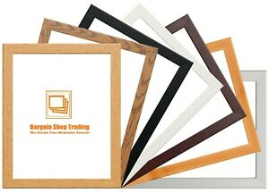Picture Frame Photo Frames A1 A2 A3 A4 10x8Inch A5 Poster Frame Black Oak White