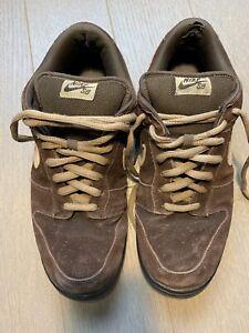 Nike Dunk Low Pro SB Dark Mocha Tweed 2007 Size 12 304292-229  2006 USED
