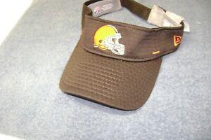 NFL CLEVELAND BROWNS ONFIELD VISOR CAP ADJUSTABLE SIZE UNISEX ADULT NEW NICE