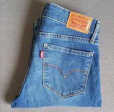 Damen Jeans LEVIS LEVI´S 712 Slim Fit 18884-0067 Blue Vista W26 L32