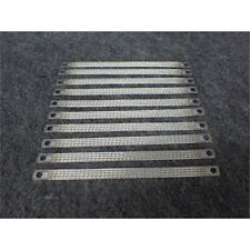 "nVent Mbj16-250-8 Braided Grounding Straps, 11"" x 1"", Tinned Copper, Pkg of 10"