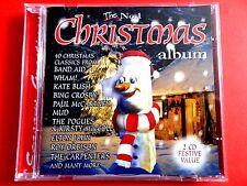 THE No.1  CHRISTMAS ALBUM  2 x CD * VG/EX*  KATE BUSH BAND AID MUD EAST 17 WHAM