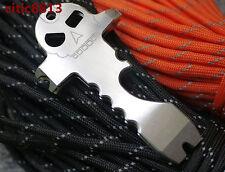 EDC Skull Pocket Self Defense Bottle Opener Keychain Multifunction Survival Tool