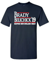 "Tom Brady Bill Belichick New England Patriots ""19""  T-Shirt"