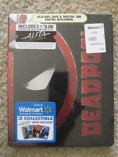 Deadpool Blu-Ray + DVD + Digital HD Steelbook Exclusive New Marvel w/Movie Money
