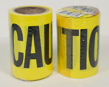 96Ft Yellow Caution Tape Construction Safety Restricted Area (2 rolls)