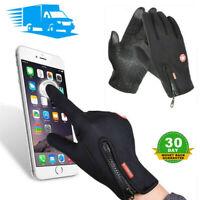Men Women Winter Warm Gloves Windproof Waterproof Thermal Touch Screen Mittens @