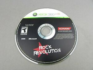 Xbox 360 Rock Revolution Only Tested