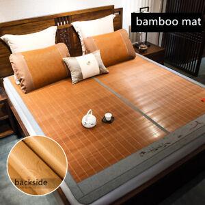 chinese bamboo mat summer sleeping cool bed mat floor mat full queen king size