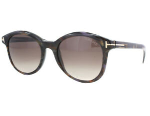Tom Ford Riley Sunglasses Brown Frame Gradient Lens FT298 50F 51-19 140
