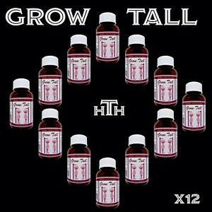 Gain Height safely and grow up to 15 cm's taller, 12 Month bottles GT