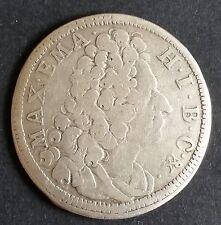 30 Kreuzer 1/2 Gulden 1718 Maximilian II Emanuel Bayern Silber Münze sehr schön