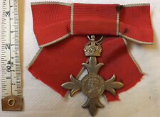 Lady's Civil MBE Medal Most Excellent Order Of The British Empire Badge (4906)