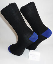 Calze Nero con blu brillante e Correggi d'attacco.