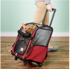NEW! Snoozer Pet Products Roll Around 4-in-1 Travel Dog & Cat Carrier Backpack