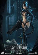Hot Toys Alien vs Predator AVP Hot Angel Alien Girl 1/6 Scale Figure In Stock